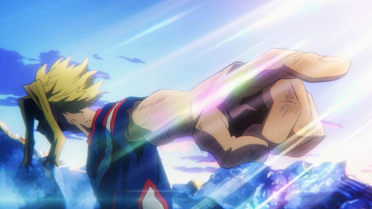 all might vs all for one - momentos marcantes 19