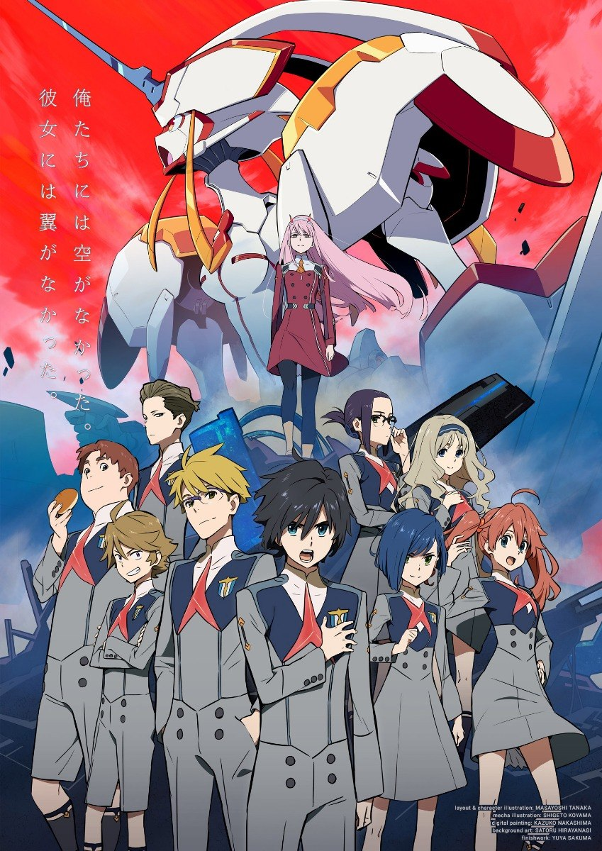 darling in the franxx poster resenha