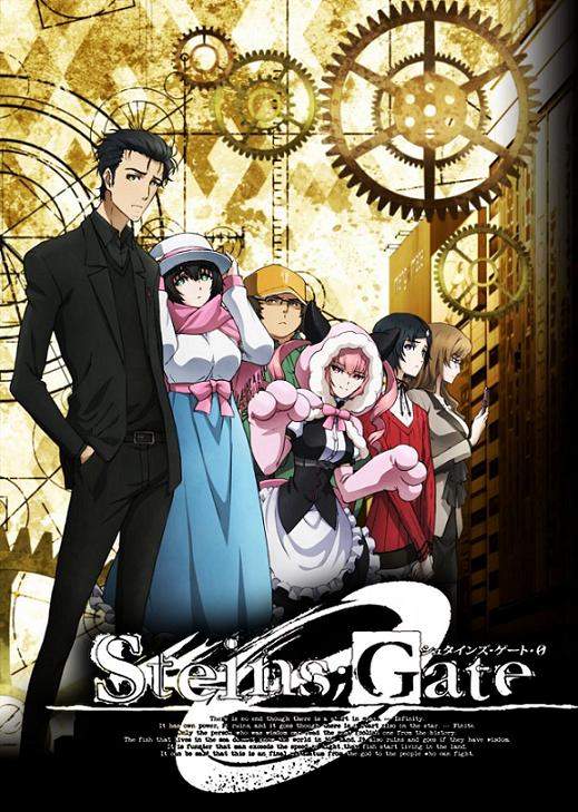 steins gate zero poster Top 10 Melhores Animes da Temporada Abril (Primavera) 2018