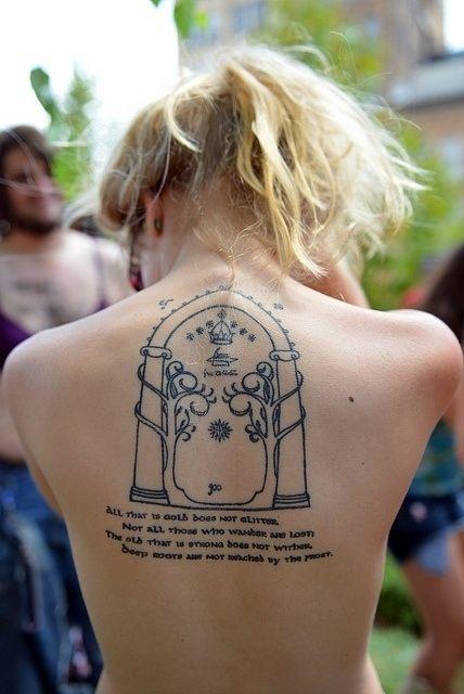 Top 10 Tatuagens O Senhor dos Aneis