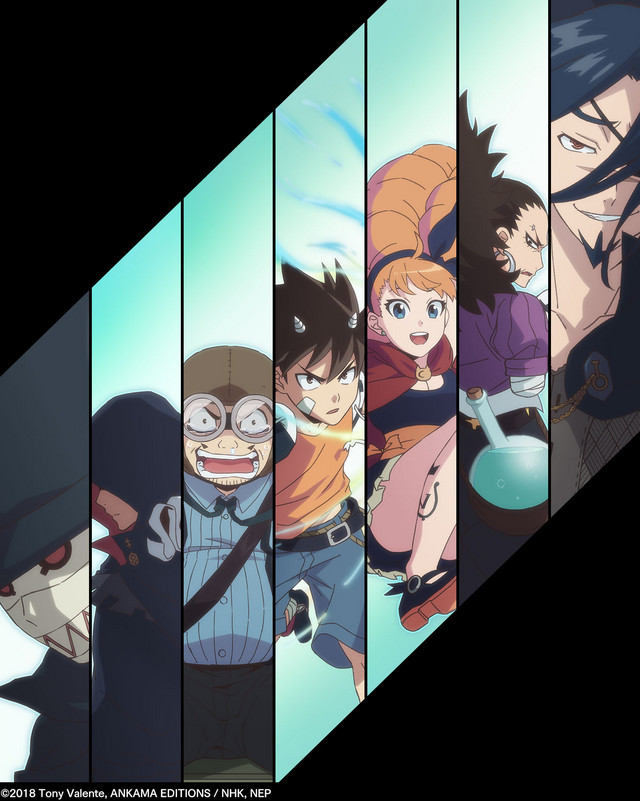 Radiant Recomendações de Animes da Temporada de Outubro (Outono) 2018