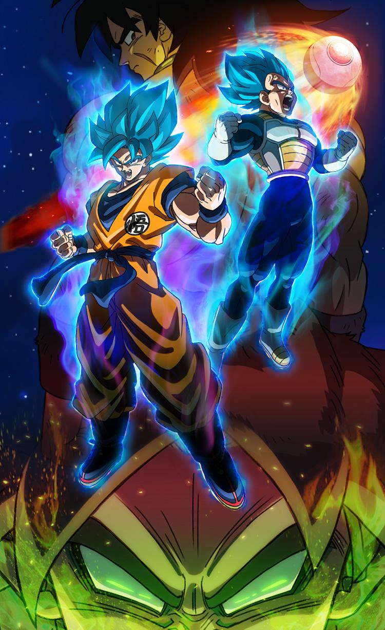 Dragon Ball Super Broly - Poster 1 - Resenha