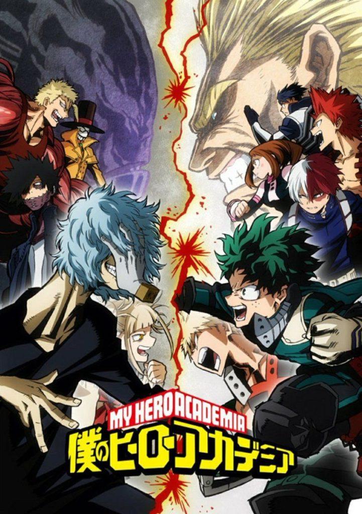 Top 10 melhores animes de 2018 - Boku no Hero Academia 3 Temporada